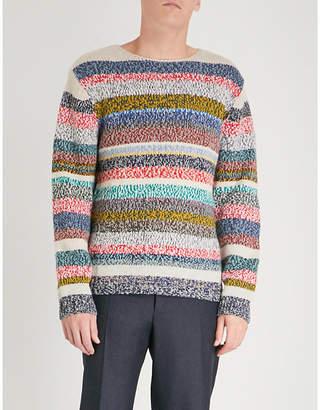 Burberry Striped wool jumper