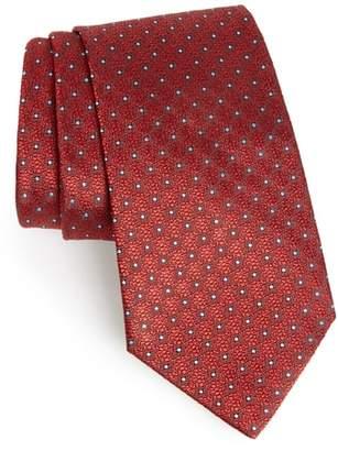 Ermenegildo Zegna Dot Silk Tie