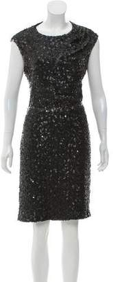 Rachel Zoe Sequined Open Back Dress w/ Tags
