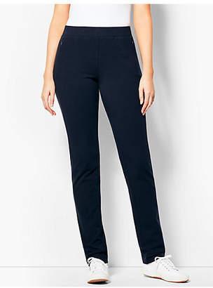 Talbots Everyday Straight-Leg Yoga Pant - Long
