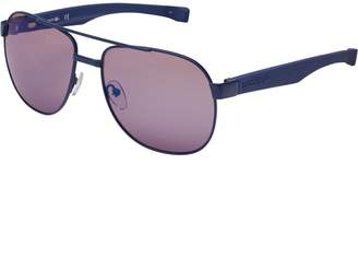 Lacoste Mens Sunglasses Blue Matte