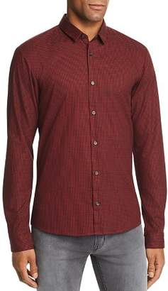 HUGO Ero Houndstooth Extra Slim Fit Button-Down Shirt