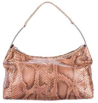 Tod's Small Python Shoulder Bag