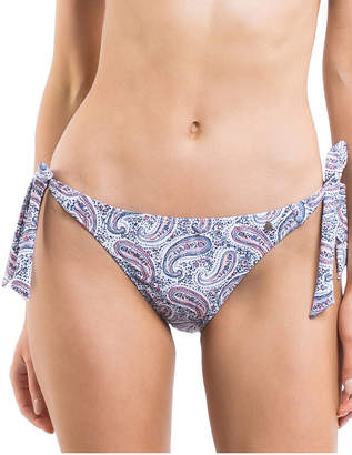 All About Eve Paisley Tie Side Bikini