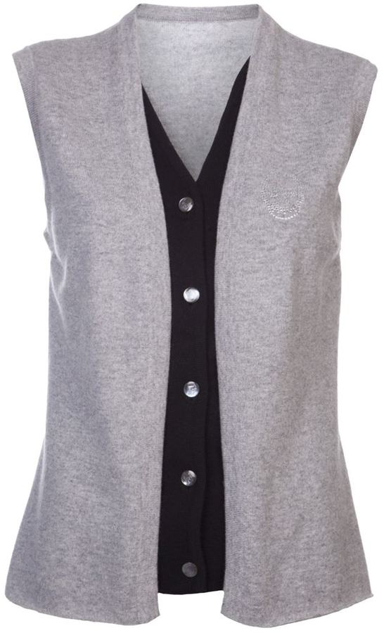 Lucien Pellat-Finet Lucien Pellat Finet double layer waistcoat
