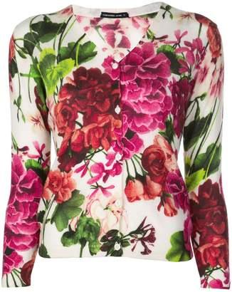 Samantha Sung Charlotte blossom print cardigan
