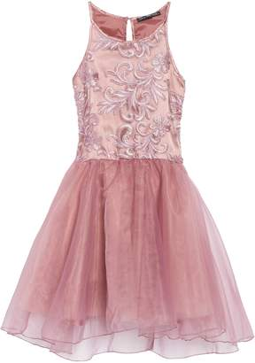 Josie Miss Behave Embroidered Bodice Dress