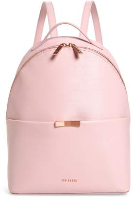 4b4ac447fb693 Ted Baker Jenyy Faceted Bow Leather Backpack