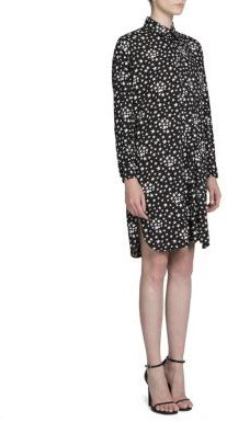 Saint LaurentSaint Laurent Star Printed Shirt Dress