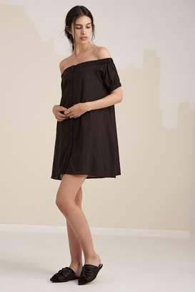 Fifth Sun THE VALLEY DRESS black