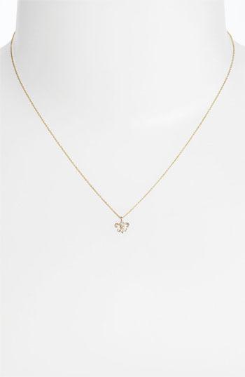 Whitney Stern Fleur de Lis Pendant Necklace