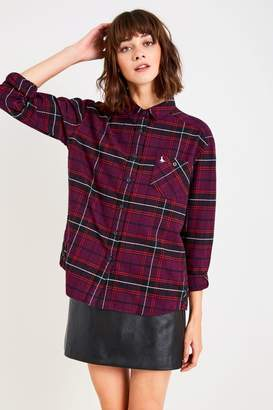 Jack Wills Ducklington Checked Slouchy Shirt