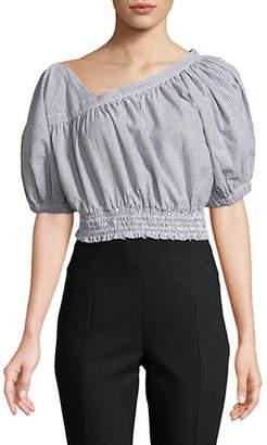Rachel Comey Cropped Cotton Delirium Top