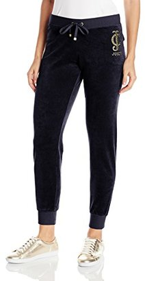 Juicy Couture Black Label Women's Logo Vlr Sunburst Slim Pant $92.17 thestylecure.com