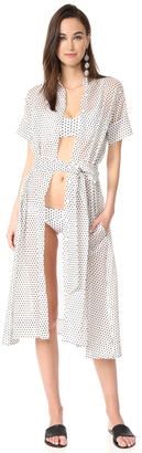 Lisa Marie Fernandez Shirtdress $595 thestylecure.com