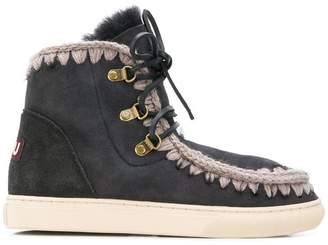 Mou lace-up Eskimo boots