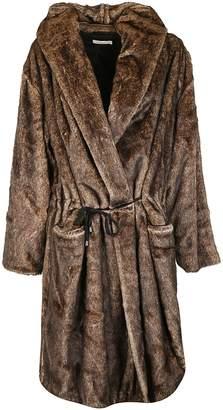 Mes Demoiselles Faux Fur Coat