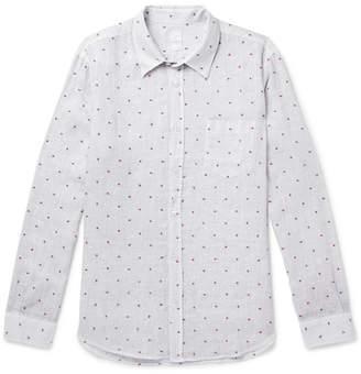 120% Fil Coupé Linen Shirt