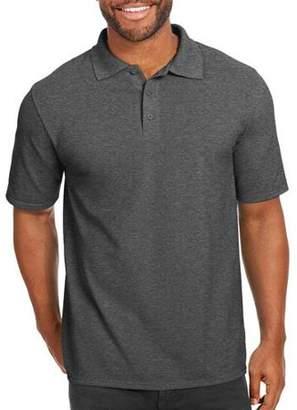 Hanes Men's X-Temp with Fresh IQ Short Sleeve Pique Polo Shirt