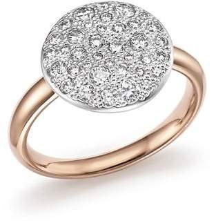 Pomellato Sabbia Ring with Diamonds in 18K Rose Gold