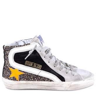 Golden Goose Distressed Slide Sneakers