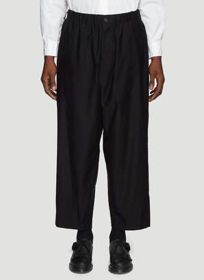 Yohji Yamamoto Wide Leg Pants in Black