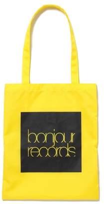 Bonjour Records (ボンジュール レコーズ) - ボンジュールレコード 【bonjour records】NYLON 12INCH TOTE