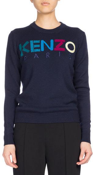 KenzoKENZO Classic Crew Sweater, Navy