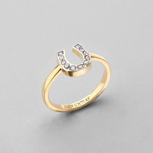 Juicy Couture Horseshoe Wish Ring