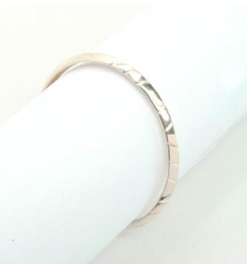 House of Harlow 1960 - Rose Gold Antique Skinny Bangle **Backorder**