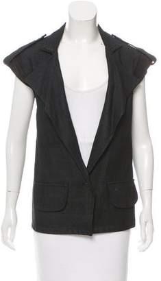 Alexis Longline Woven Vest