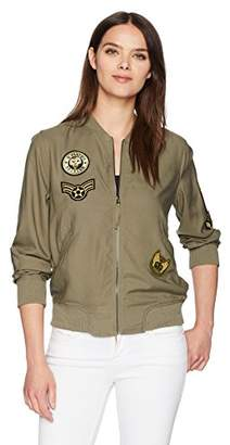 Max Studio Women's Bomber Jacket