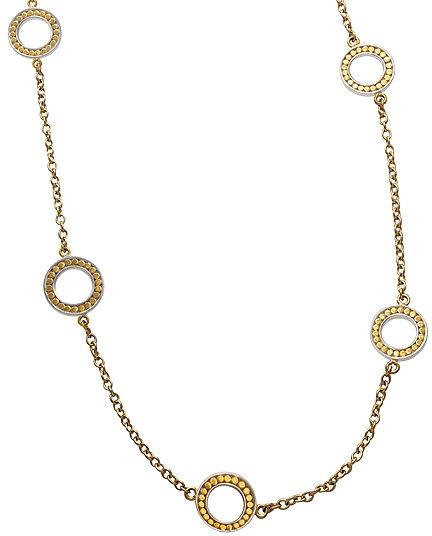 Anna Beck Riau Gold Open O Necklace