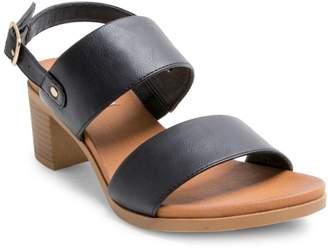 Steve Madden Pinky Stacked-Heel Sandals