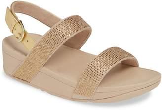 FitFlop Lottie Shimmer Slingback Sandal