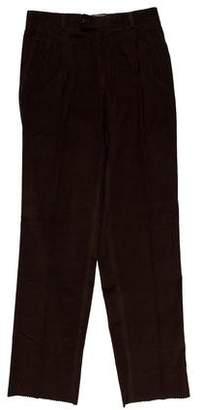 Burberry Pleated Corduroy Pants