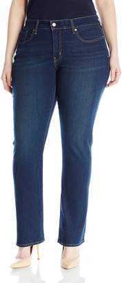 Levi's Women's Plus-Size Totally Shaping Straight Jeans