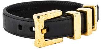 Saint Laurent Signature Belt Bracelet
