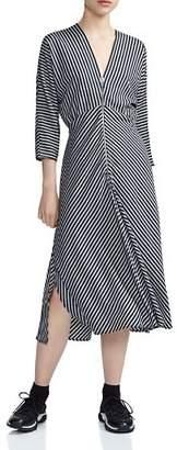 Maje Rava Striped Dress