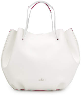Hogan contrast bucket bag