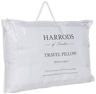 Harrods Duck Down Travel Pillow