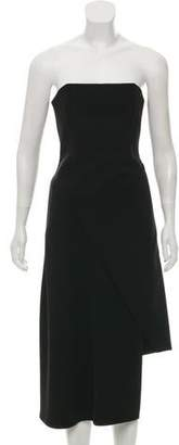 Nicholas Strapless Midi Dress