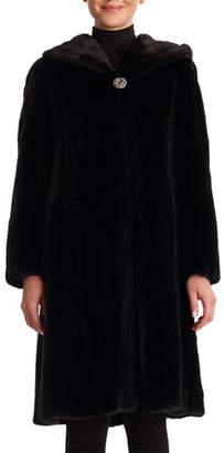 Gorski Mink Coat with Hood