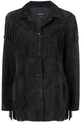 Isabel Marant fringed jacket