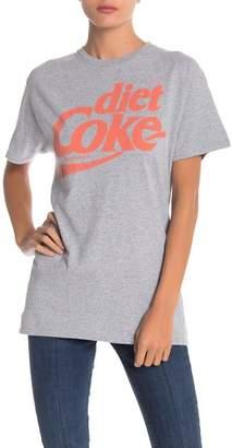 Junk Food Clothing Diet Coke Logo Graphic Tee