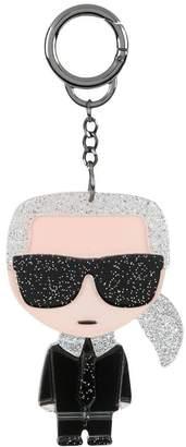 Karl Lagerfeld motif keyring