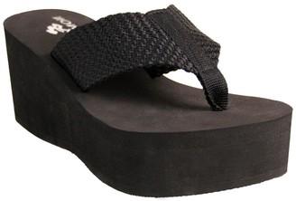 NOMAD Tide Thong Wedge Sandals