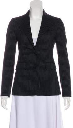 Burberry Pin-Stripe Wool Blazer