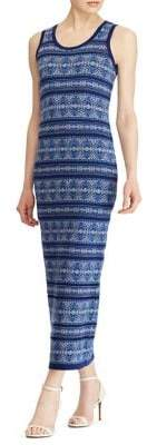 Lauren Ralph Lauren Fair Isle Maxi Dress