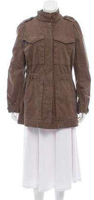 Rebecca Taylor Button-Up Casual Coat